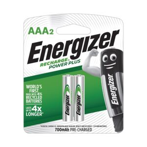 Battery Rechargeable size AAA 2/pack NH1