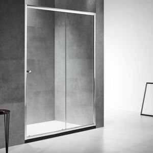 SHOWER DOOR MULSANNE SLIDE 120X190CM 6MM