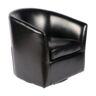 كرسي دوار 83.5×79.5×98.5 سم أسود