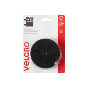 HOOK & LOOP TAPE 5 STICKY BLACK VELCRO