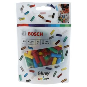 BOSCH GLUEY STICKS COLOUR 70 PCS