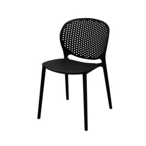 DINNER CHAIR DELUXE BLACK 263APP
