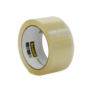 "PACKAGING TAPE 3PC 1.88""X54.6YD CLEAR 3M"