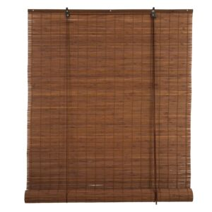 BLINDS ROLL 150X180CM BAMBOO BROWN