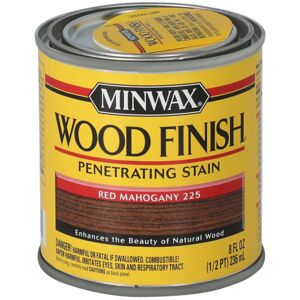 WOOD STAIN 1/2PT RED MAHOGANY MINWAX