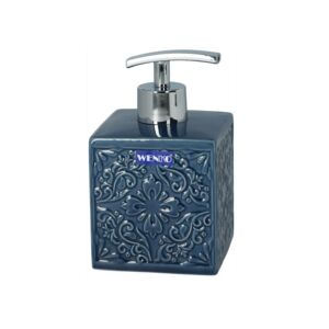SOAP DISPENSER CORDOBA CERAMIC DARK BLUE