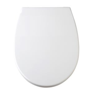 TOILET SEAT COVER OPTIMA PLASTIC WHITE