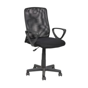 OFFICE CHAIR MESH BACK BLACK 122F