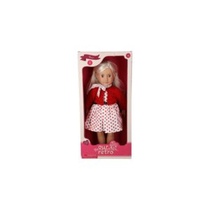 "DOLL-OG-ROSE18"" RETRO DOLL, WHITE BLONDE"
