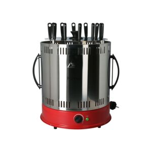 BARBECUE GRILL ROTARY 12 SKEWER 1800W
