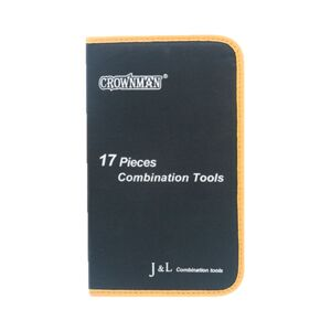 TOOLS SET 17PCS COMBINATION CROWNMAN