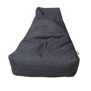 BEAN BAG FABRIC OUTDOOR UV LARGE BLACK