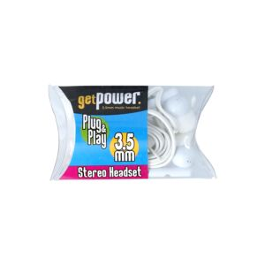 STEREO EARBUDS 3.5MM ASSORTED GETPOWER