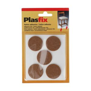 FELT ADHESIVE 4079-4 5PC BROWN