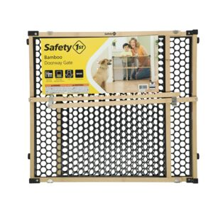 "SAFETY GATE 27- 42IN 24""H BAMBOO FRAME"