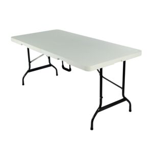 TABLE FOLDABLE 152X71X74CM 5' MOLD WHT