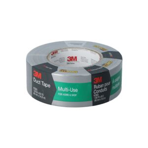 "DUCT TAPE 1.88"" GRAY LABEL 3M"