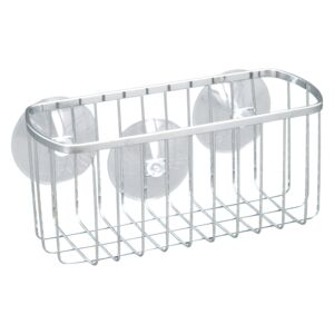 "SHOWER BASKET 9X4X4"" STAINLESS STEEL"