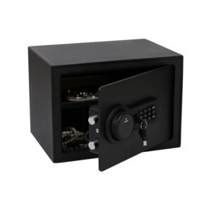 ELECTRONIC SAFE 9.5KG BLACK
