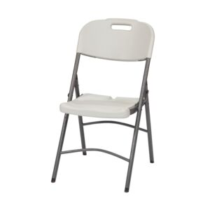 FOLDING CHAIR BLOW MOLD WHITE