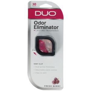 AIR FRESHENER VENT CLIP FRESH BERRY DUO