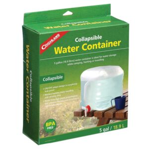 WATER CONTAINER COLLAPSIBLE COGHLANS