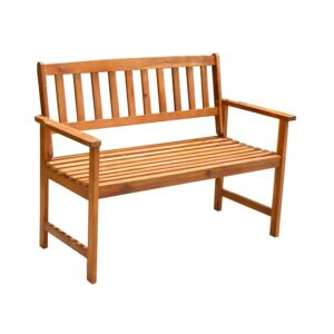 BENCH 2PERSON 1200X620X890CM KD WOOD