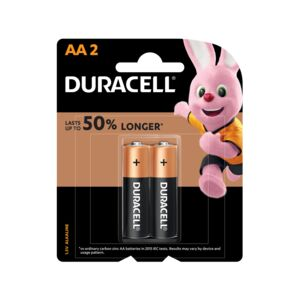 BATTERY ALK 2PCS AA DURACELL