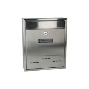 MAIL BOX 260X95X310CM STAINLESS STEEL
