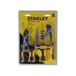 PLIER&WRENCH SET 4PCS STANLEY