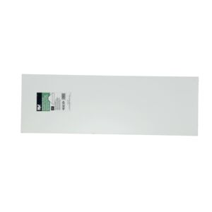 "SHELF 12x36x5/8"" WOOD MELATEX WHITE"