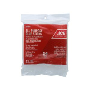 "GLUE STICK 4"" 24PC ALL PURPOSE ACE"