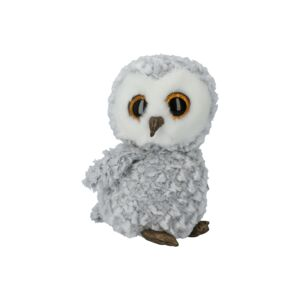 TY SOFT TOY/OWLETTE WHITE OWL MED