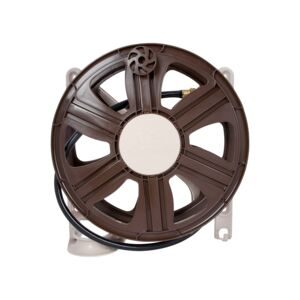 HOSE REEL 30M WALL SIDE BROWN AMES