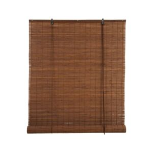 BLINDS ROLL 120X180CM BAMBOO BROWN