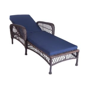 CHAISE LOUNGER 4POSTION ADJ. BACK W/CUSH