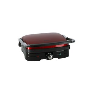 GRILL 1500W NONSTICK PLATES RED KENWOOD