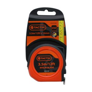 MEASURING TAPE 3.5M/12FTX16MM TACTIX