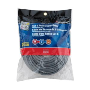 CABLE 100FT CAT 6 550MHz RJ-45 GRAY