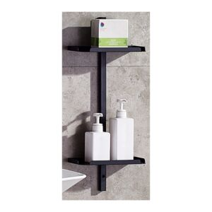SHELF NICE 60X25X12CM BLACK