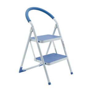 LADDER 2 STEPS COLORFUL STEEL R26902