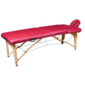 MASSAGE TABLE SET WOODEN BODY SCULPTRE