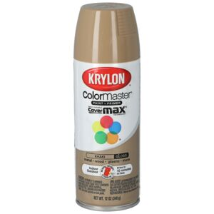 SPRAY PAINT 12oz CM SATIN KHAKI KRYLON
