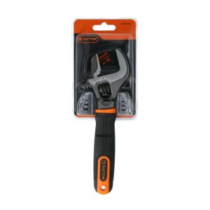 "ADJUSTABLE WRENCH 8"" 20CM WIDE MOUTH"