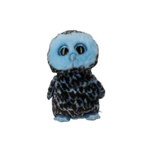 TY SOFT TOY/YAGO BLUE OWL MED