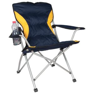 CHAIR 83X58X97CM CAMPING W/PADIN DELUXEC