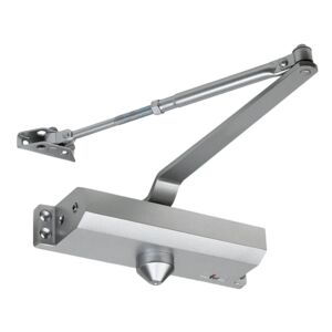 DOOR CLOSER SIZE 4  GR1 ALUMINUM FINISH
