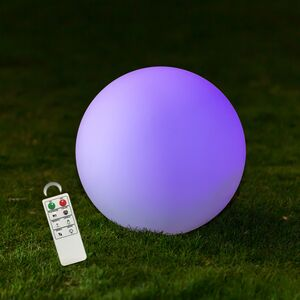 DECORATIVE 25CM LEDBALL LAMP IP68 MCOLOR