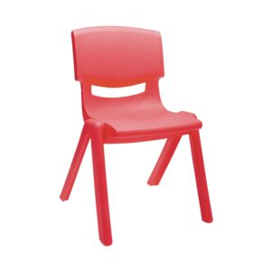 CHAIR 30CM FOR KID PLASTIC RED KQ8233B