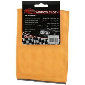 CAR WINDOW CLEANING CLOTH B MICROFIBER